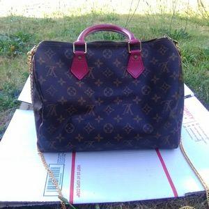 Louis Vuitton Speedy Bandoliere 30